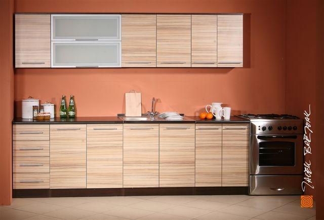 k chenzeile k che k chenblock variabel stellbar 260cm ebay. Black Bedroom Furniture Sets. Home Design Ideas