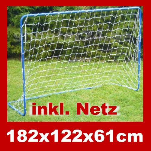 fussballtor fu balltor tor stabil wetterfest inkl netz ebay. Black Bedroom Furniture Sets. Home Design Ideas